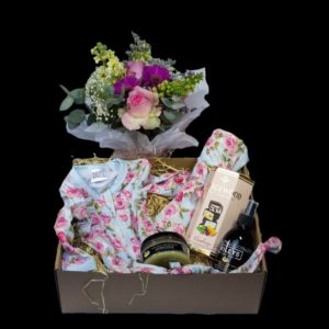 It's a baby girl hamper